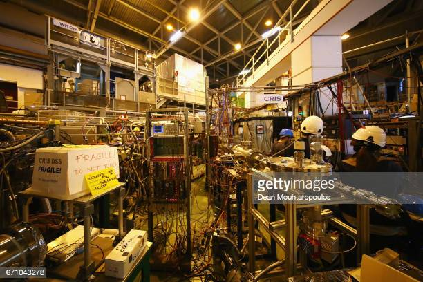 A general view of the Collinear Resonant Ionization Spectroscopy or CRIS experiment at ISOLDE which performed some of the worlds most sensitive...