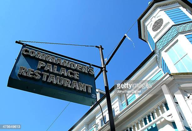 A general view of the Commander's Palace restaurant in the Garden District on March 26 2013 in New Orleans Louisiana