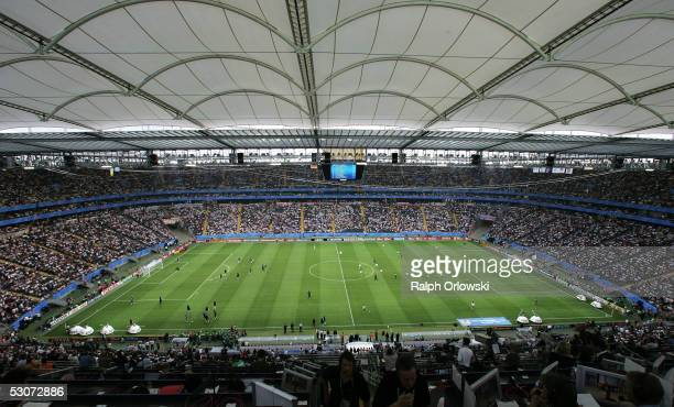 General view of the 'Commerzbank Arena' on June 15 2005 in Frankfurt Germany