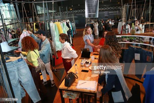 General view of the Core showrooms during Mercedes-Benz Istanbul Fashion Week at Zorlu Performance Hall on October 10, 2019 in Istanbul, Turkey.
