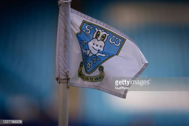 A general view of the corner flag during the Sky Bet Championship match between Sheffield Wednesday and Middlesbrough at Hillsborough Sheffield on...