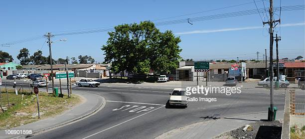 A general view of the corner of Klipfontein road and Johnson Qona Street where British honeymooners Anni Dewani and Shrien Dewani were attacked on...