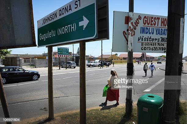 A general view of the corner of Klipfontein road and Johnson Qona Street where British honeymooners Anni Dewani and Shrien Dewani were attacked on...