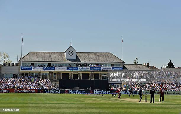 General view of the County Ground at Bristol on a sunny day during the NatWest Series One Day International between England and West indies at...