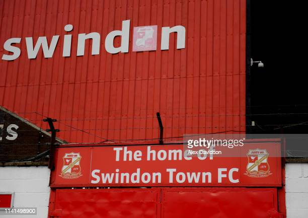 General view of the County Ground during the International Friendly between England Women and Spain Women at the County Ground on April 09, 2019 in...