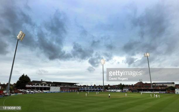 General view of the County Ground during the LV=Insurance County Championship match between Northamptonshire and Lancashire at The County Ground on...