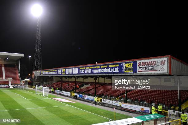 General view of the County Ground home of Swindon Town
