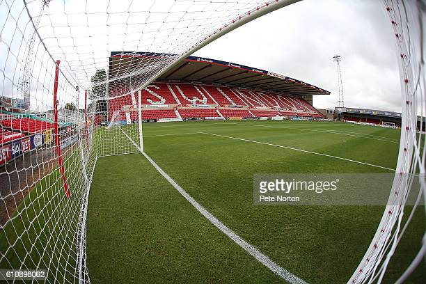 A general view of The County Ground prior to the Sky Bet League One match between Swindon Town and Northampton Town at County Ground on September 27...