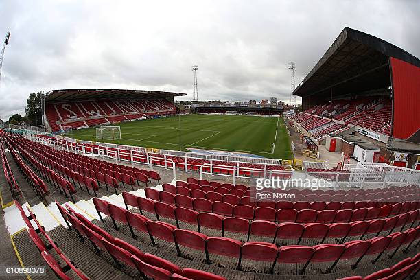 General view of The County Ground prior to the Sky Bet League One match between Swindon Town and Northampton Town at County Ground on September 27,...