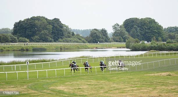 General view of the course at Ripon Racecourse on June 20 2013 in Ripon England