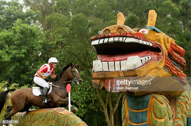 General view of the course during the Eventing Cross Country event held at the Hong Kong Olympic Equestrian Venue at Beas River on Day 3 of the...