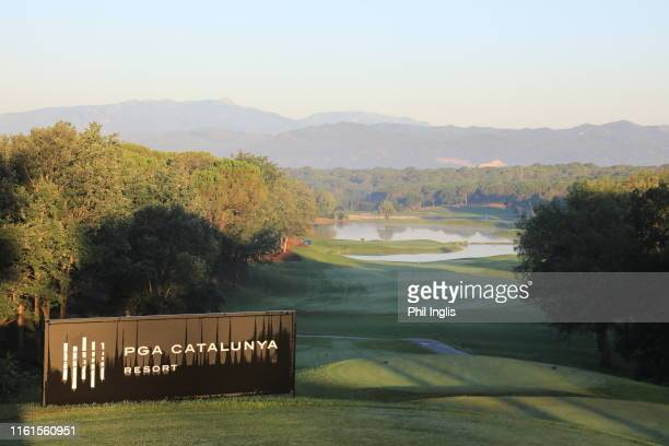 A general view of the course during the first round of the European Tour Destinations Senior Classic played at PGA Catalunya Resort on July 12 2019...