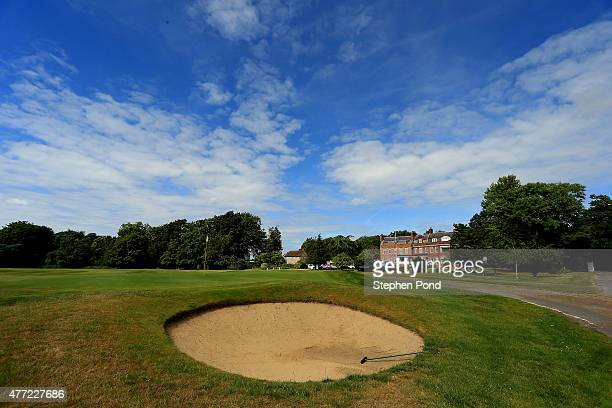A general view of the course during the Golfbreakscom PGA Fourball Championship East Qualifier at Bush Hill Park Golf Club on June 15 2015 in Enfield...