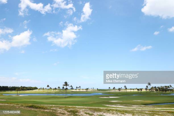 General view of the course during the TaylorMade Driving Relief Supported By UnitedHealth Group on May 17, 2020 at Seminole Golf Club in Juno Beach,...