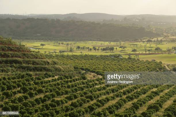 A general view of the course following play on day two of the Open de Portugal at Morgado Golf Resort on May 12 2017 in Portimao Portugal