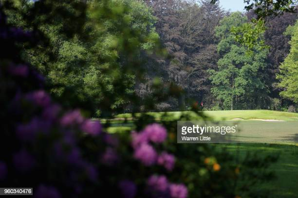 General view of the course in the sun during the final day of the Belgian Knockout at Rinkven International Golf Club on May 20 2018 in Antwerpen...