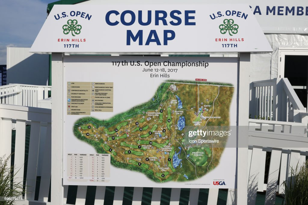 Us Open Erin Hills Map - Us Open Course Map