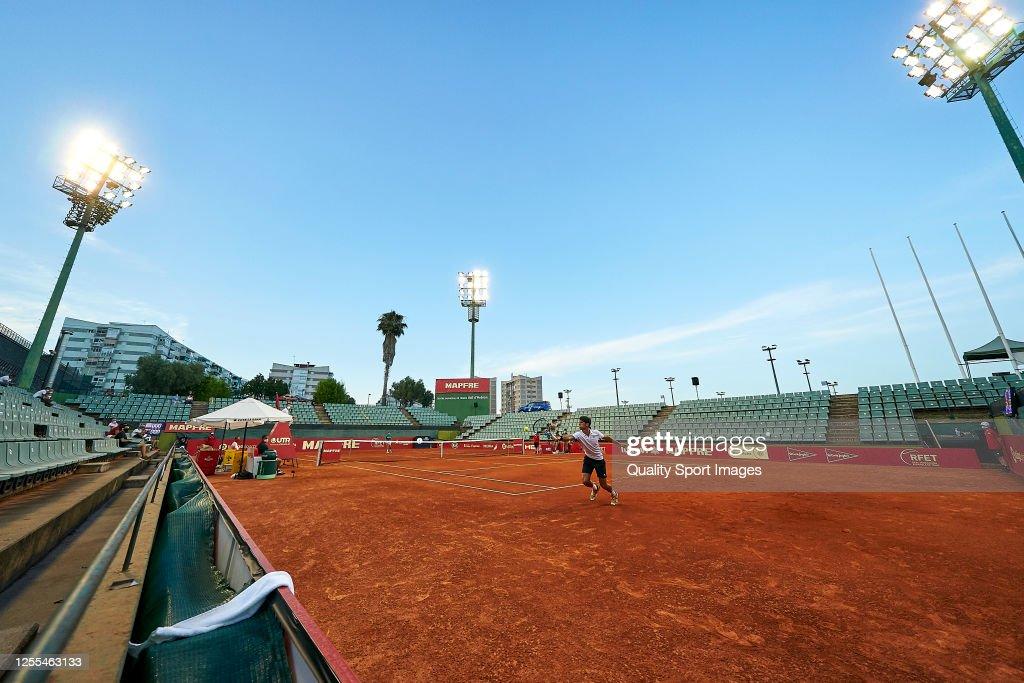 La Liga MAPFRE de Tenis - Day 1 : ニュース写真