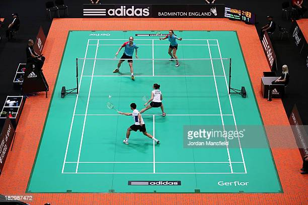 badminton stock photos and pictures getty images