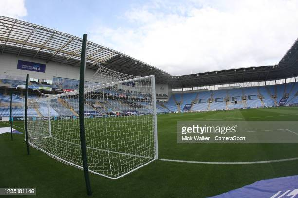 General view of the Coventry Building Society Arena home of Coventry City during the Sky Bet Championship match between Coventry City and...