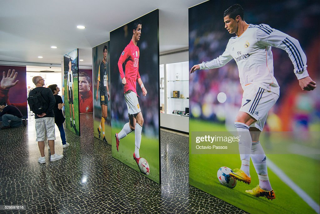 General view of the CR7 Museum of Portuguese footballer Cristiano Ronaldo on May 9, 2016 in Funchal, Madeira, Portugal.