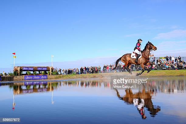 General view of the Cross Country event during the Saddleworld Melbourne International 3 Day Event at Werribee Park Equestrian Centre on June 12 2016...