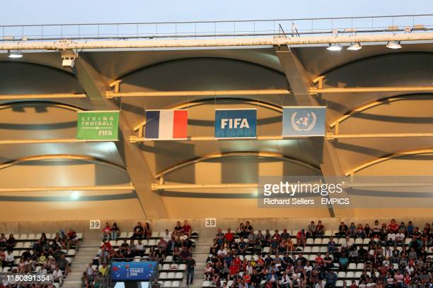 General view of the crowd at Stade Auguste-Delaune II South Korea v Norway - FIFA Women's World Cup 2019 - Group A - Stade Auguste-Delaune II .