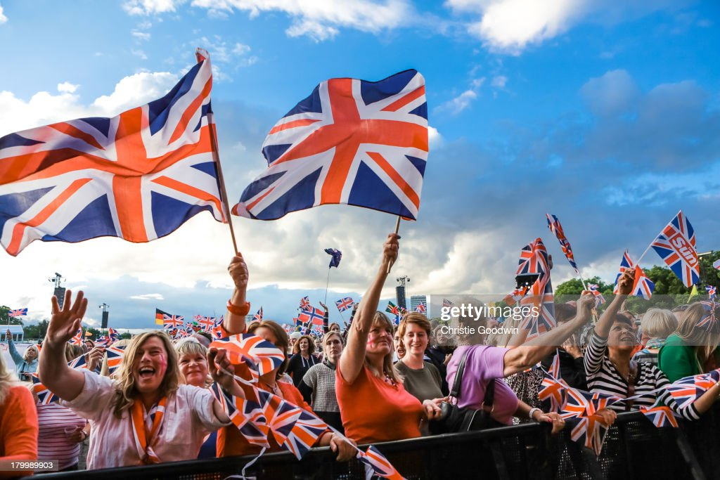 BBC Proms In The Park 2013 : News Photo