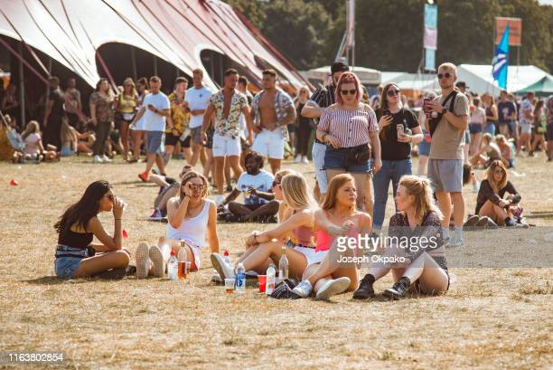 General view of the crowd during day 1 of South West Four Festival 2019 at Clapham Common on August 24, 2019 in London, England.