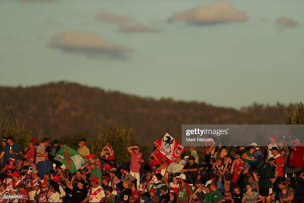 Rabbitohs v Dragons - NRL Trial Match : News Photo