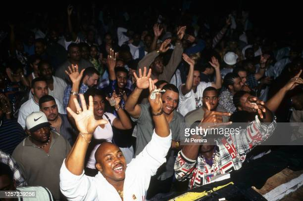 General view of the crowd when Luther Campbell of the group 2 Live Crew performs at Cameo as part of his 99 Jamz Radio Show on January 30, 1999 in...