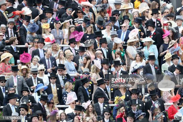 General view of the crowds on day five of Royal Ascot at Ascot Racecourse on June 22, 2019 in Ascot, England.
