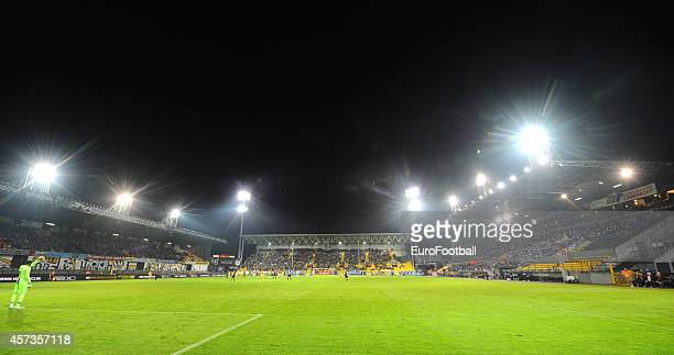 General view of the Daknamstadion before the UEFA Europa League group L match between KSC Lokeren OVL and FC Metalist Kharkiv at the Daknamstadion on...