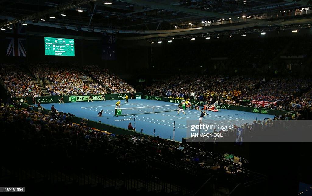TENNIS-DAVIS-GBR-AUS : News Photo