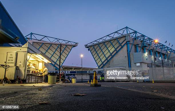 A general view of The Den home of Millwall during the Sky Bet League One match between Millwall and Bolton Wanderers at The Den on October 18 2016 in...