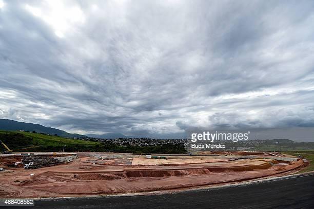 General view of the Deodoro Sports Complex for the Rio 2016 Olympic Games in Ricardo de Albuquerque neighborhood on April 2 2015 in Rio de Janeiro...