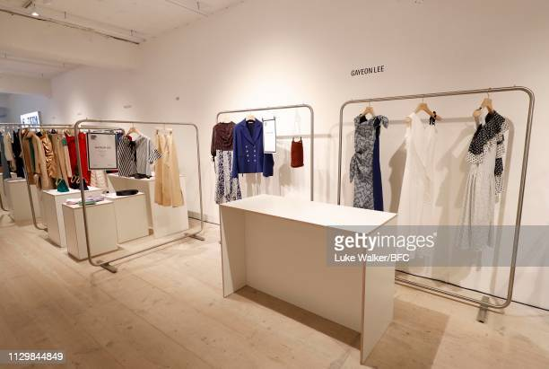 General view of the designer showrooms at 180 Strand during London Fashion Week February 2019 on February 15, 2019 in London, England.