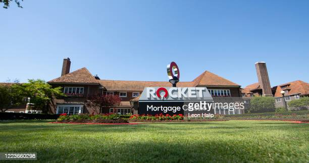 General view of the Detroit Golf Club during the practice session for the Rocket Mortgage Classic on June 30, 2020 in Detroit, Michigan.