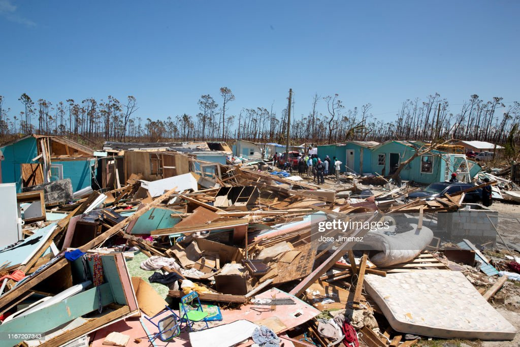 Haitians That Remain in Grand Abaco Island Struggle to Survive : News Photo