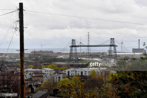 General view of the docks in Newport on April 04 2019 in Newport Wales The Newport West Byelection is being held following the death of Labour's Paul...