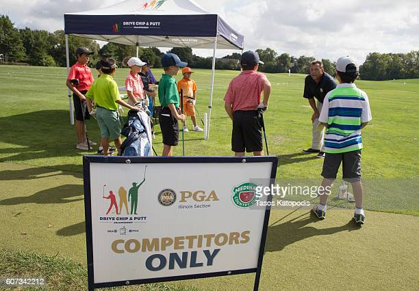 General view of The Drive Chip and Putt Championship at Medinah Country Golf Club on September 17 2016 in Medinah Illinois