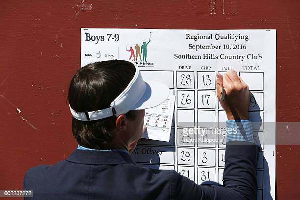 General view of the Drive Chip and Putt Regional Qualifier at Southern Hills Country Club on September 10 2016 in Tulsa Oklahoma