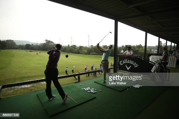 General view of the driving range ahead of the Joburg Open at Randpark Golf Club on December 6, 2017 in Johannesburg, South Africa.