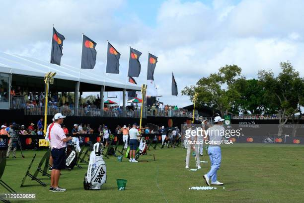 A general view of the driving range during The Open Qualifying Series part of the Arnold Palmer Invitational at Bay Hill Club and Lodge on March 10...