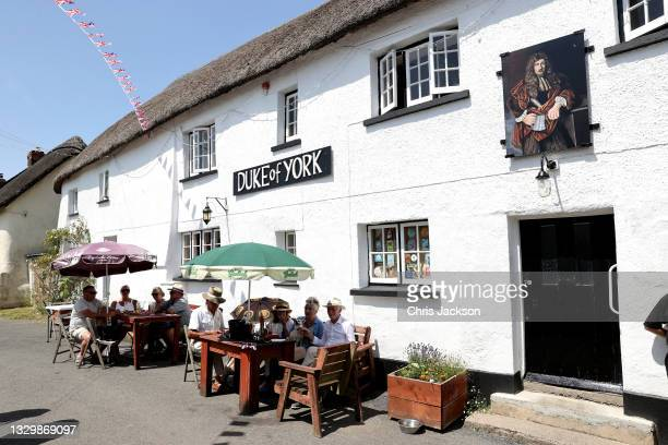 General view of the Duke of York Inn ahead of the visit by Camilla, Duchess of Cornwall to join author Sir Michael Morpurgo at a lunch club for local...