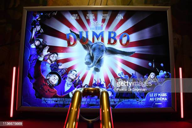 """General view of the """"Dumbo"""" Paris Gala Screening at Cinema Le Grand Rex on March 18, 2019 in Paris, France."""