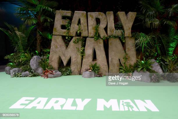 A general view of the 'Early Man' World Premiere held at BFI IMAX on January 14 2018 in London England