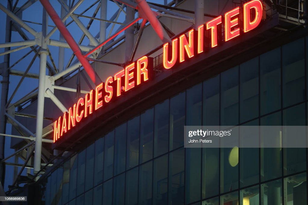 Manchester United Turn Their Christmas Lights On : News Photo