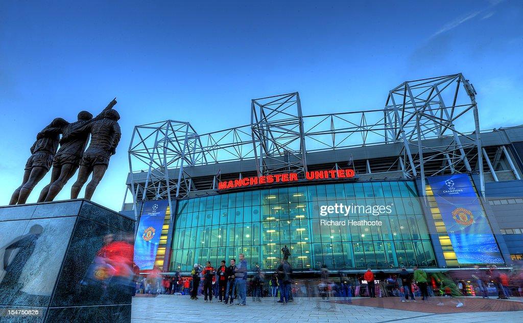 Manchester United FC v SC Braga - UEFA Champions League : News Photo