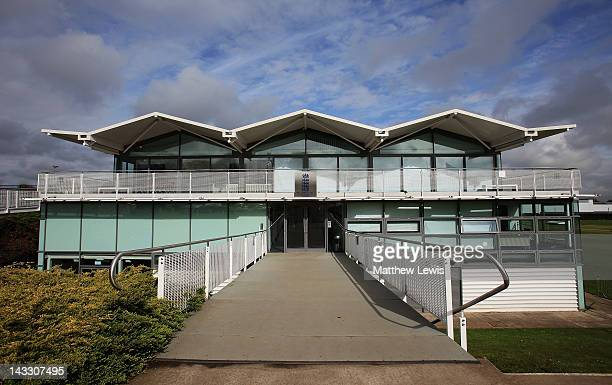 A general view of the ECB National Cricket Performance Centre on April 23 2012 in Loughborough England